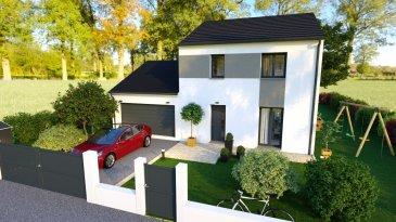 A SAISIR :  Maison individuelle T5 DE 100 m² sur la commune de Doncourt Cité. Projet en partenariat avec le constructeur