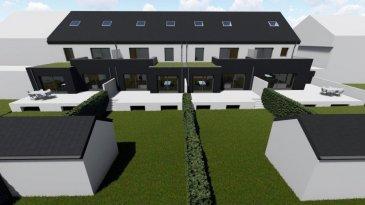 *** Nouveau lotissement  à BETTENDORF ***<br><br>LOT 2: maison en bande sur un terrain de 3.14 ares avec une surface habitable de 266.28m2 + terrasse de 43.70m2, se compose comme suit :: <br><br>Situé à Bettendorf, dans une rue très calme, à 6 mn de Diekirch. Il se constitue de 4 maisons d\'une surface totale d\'environ 216 m2 ? 281 m2. <br>Toutes les maisons disposent d\'une grande terrasse et un jardin (avec abri de jardin).<br><br>* Rez-de-chaussée : salon avec cuisine ouverte et salle à manger avec accès sur terrasse et jardin, vestiaire, wc séparée, buanderie et local technique, garage et deux emplacements extérieurs devant la garage.<br> <br>* 1er étage : 3 chambres (dont une parentale avec dressing et accès sur une terrasse de 18m2), bureau (ou encore une chambre), une salle de bain et un wc séparée <br> <br>* 2ème étage : grenier aménageable, local technique<br><br>Le village de Bettendorf, se trouve à 5km de Diekirch, 10 km d\'Ettelbruck et de 45 km de Luxembourg-ville.  La commune de Bettendorf dispose d\'une école fondamentale du cycle 1 à 4 et d\'une Maison Relais. <br><br>Pour plus des renseignements n\'hésiter pas de contacter au 691 850 805.