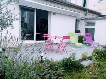 A LOUER APPARTEMENT RDC F5  110 m2 avec terrasse. A louer à Montigny les Metz  appartement en rez de chaussée  de 110m2 comprenant : 1 chambre parentale avec salle d'eau,   2 chambres, 1 salle de bain avec wc, une pièce de vie ouverte  sur cuisine équipée donnant sur une belle terrasse , 1 cellier, 1 cave. DSPONIBLE LE 20 OCTOBRE 2021 DIAGNOSTICS EN COURS Contact Mme Pfeiffer 0603290078