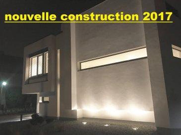 - NOUVELLE CONSTRUCTION - PREMIERE OCCUPATION - TERRAIN DE 5.50 ARES - ORIENTE SUD - CUISINE EQUIPEEHAUT DE GAMME AVEC ACCES SUR     TERRASSE/JARDIN - 3 CHAMBRES A COUCHER+SALLE DE DOUCHE ITALIENNE+WC+DBLR    LAVABO - 1 SUITE PARENTALE -DRESSING-SALLE DE BAINS AVEC BAIGNOIRE DE COIN ET DOUCHE ITALIENNE+WC - DBLE GARAGE pour 2 VOITURES JUXTAPOSES - POMPE A CHALEUR AIR/AIR - VMC DOUBLE FLUX - VOLETS ELECTRIQUES - ALENTOURS CLOTURES ET AMENAGES  ....etc......  OBJET EXCEPTIONNEL A VOIR Disponible DESUITE