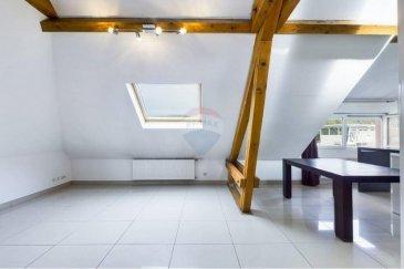 Veuillez contacter Franck Paul pour de plus amples informations : - T : +352 691 657 074 - E : franck.paul@remax.lu  RE/MAX, Leader de l'immobilier à Bereldange, vous propose, à la vente, ce charmant appartement aux portes de la capitale luxembourgeoise.   Ce bien, situé au 2ème étage d'une petite résidence de 3 unités, d'une surface habitable de 100 m², très lumineux, se compose comme suit :   - Un hall d'entrée - Une cuisine ouverte sur le salon le tout faisant une surface habitable de 32 m² - Deux vastes chambres (dont une de 24 m²)  - Une salle de bain comportant une baignoire et une douche italienne - Une vaste mezzanine de 25 m² au sol pouvant être utilisée comme chambre, bureau ou pièce à vivre - Deux places de parking privées extérieures  Cet appartement est très avantageusement situé. Si vous aimez le centre de la capitale, vous êtes à 12 minutes de la Place d'Armes où l'on trouve de nombreux restaurants et bars branchés. Vous vous situez également à 12 minutes du plateau du Kirchberg. Vous trouverez, également, tous les services nécessaires aux jeunes familles sur place: une école fondamentale à 200 mètres, une maison relais, plusieurs crèches à moins de 1 kilomètre, 4 supermarchés... la liste n'est pas exhaustive. Le quartier est très bien desservi par les transports en commun (lignes de bus 10 et 11 jusqu'aux environs de minuit) et la gare CFL de Walferdange se situe à quelques centaines de mètres.   Bien que l'appartement ait été rénové en 2010, quelques travaux restent à prévoir.   Visite virtuelle : https://premium.giraffe360.com/remax-select/2cf52f6f24cb4e3eb4358de1c40f8c79/  N'hésitez pas à me contacter pour tout renseignement complément ou une visite.        Frais d'agence RE/MAX : 2,5 % du prix de vente + TVA à charge de la partie venderesse Toute offre sera soumise à l'acceptation expresse des vendeurs.  --  Please contact Franck Paul for further information: - +352 691 657 074 - franck.paul@remax.lu  RE/MAX, the real estate leader in Bereldange,
