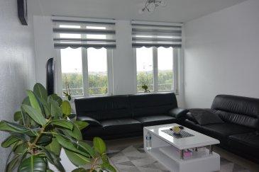 Bel appartement de 71.65 m2 situé au 4eme étage d'une résidence de 2010, dans un quartier calme de Luxembourg-Cents.  Ce bien se compose comme suit: - Vaste hall d'entrée avec débarras/buanderie - Living lumineux  - Cuisine équipée séparée - 2 belles chambres à coucher - Salle de douche - WC séparé - Cave de /-4.5m2.  Résidence avec un Bail Emphytéotique. Libre au 1 mai 2021 Atouts de cet appartement :  Construction 2010 / Aucuns travaux à prévoir / Proche des magasins / Arrêt de bus à proximité / Ecoles, crèches et foyers du jour dans le quartier.  Pour toutes informations, contactez Axel Lehssini au 691 231 299