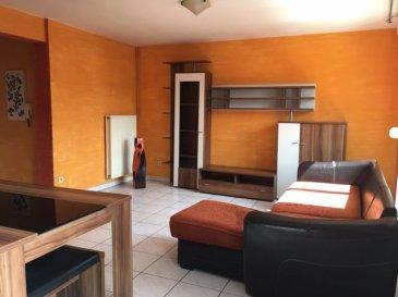 DUPLEX 3 PC.   AUDUN LE TICHE - PROXIMITE GARE - PROCHE FRONTIERE LUXEMBOURGEOISE.<br> Situé au 3èmes et dernier étage, agréable appartement F3 de 68m2 au sol et de 59.35m hab (carrez), en DUPLEX, se composant de la façon suivante : au premier niveau, une spacieuse entrée vous accueille, un espace de vie avec cuisine ouverte sur salon, le tout formant une surface de 23 m2, un WC; L\'espace nuit à l\'étage supérieur, présente un dégagement desservant deux chambres mansardées, et une salle de bains avec WC. Prévoir rafraichissement.<br> PRIX : 165 000 EUR<br> AGENCE VENNER IMMOBILIER ACHAT VENTE GESTION LOCATIVE: 03 87 63 60 09 / 07 87 01 95 93 <br><br><br><br><br>
