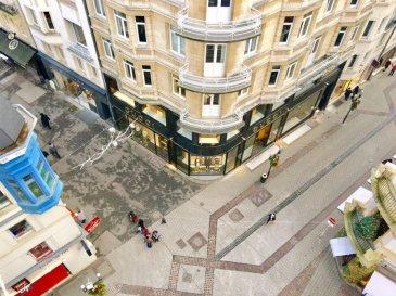 ''active relocation Luxembourg'' vous propose un spacieux appartement à louer en plein centre-ville au coeur du piétonnier, au 6ème étage (dernière étage) avec une superbe vue dégagée sur toute la ville.  L'appartement se compose comme suit: - grand hall d'entrée - séjour avec accès au balcon au dessus de la zone piétonne - cuisine équipée individuelle avec machine à laver - 2 chambres à coucher - 1 débarras pouvant servir de dressing - 1 hall de nuit - 1 salle de douche avec WC  Disponible: début Mars 2020  coin rue Philippe II et avenue Monterey. Au plein centre-ville dans la zone piétonne.  Si vous pensez vendre ou louer votre bien, active relocation luxembourg est à votre service pour vous conseiller au mieux et vous faire profiter de toutes ses compétences en vue de commercialiser votre bien de manière professionnelle et rapide.  +352 270 485 005 info@arlux.lu www.arluximmo.lu