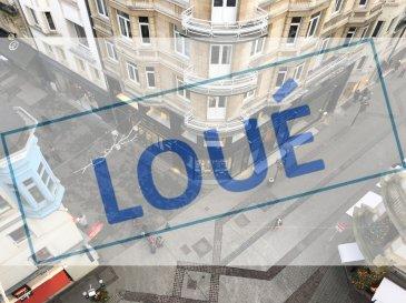 ***LOUE*** ''active relocation Luxembourg'' vous propose un spacieux appartement à louer en plein centre-ville au coeur du piétonnier, au 6ème étage (dernière étage) avec une superbe vue dégagée sur toute la ville.  L'appartement se compose comme suit: - grand hall d'entrée - séjour avec accès au balcon au dessus de la zone piétonne - cuisine équipée individuelle avec machine à laver - 2 chambres à coucher - 1 débarras pouvant servir de dressing - 1 hall de nuit - 1 salle de douche avec WC  Disponible: début Mars 2020  coin rue Philippe II et avenue Monterey. Au plein centre-ville dans la zone piétonne.  Si vous pensez vendre ou louer votre bien, active relocation luxembourg est à votre service pour vous conseiller au mieux et vous faire profiter de toutes ses compétences en vue de commercialiser votre bien de manière professionnelle et rapide.  +352 270 485 005 info@arlux.lu www.arluximmo.lu