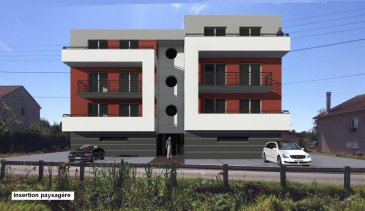 MANOM : T2 neuf dans jolie résidence, cuisine ouverte sur séjour, 1 chambre, salle de bains (garage + parking privés + 15 000 € ) RT 2012 LOI PINEL FRAIS DE NOTAIRE REDUITS LIVRAISON DEBUT 2018