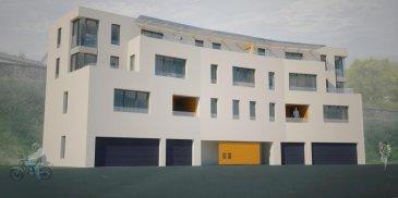 Homeseek Belair (+352 691 566 314) vous présente en avant-première cet appartement (B.1) en vente en état de futur achèvement de 88,04m²  dans une résidence composée de 6 appartements aux finitions haut de gamme! Les travaux débuteront en mars 2019.  Ce dernier, situé au 1er étage, est composé comme suit: - deux chambres-à-coucher  - un débarras - une salle-de-bain - un espace cuisine ouvert sur ; - un living et salle-à-manger donnant accès à la loggia communicante (living/chambre-à-coucher) avec vue imprenable sur la nature - un hall vestiaire  Se situent au rez-de-chaussée: - la cave (inclus dans le prix annoncé) - l'emplacement intérieur  - la buanderie (en partie commune) - le local poussettes / vélos (en partie commune) - le local technique  L'emplacement intérieur privatif à 15366' n'est pas inclus dans le tarif.  Sont notamment situés en parties communes 6 emplacements extérieurs, au prix de 10244' par emplacement (offre suivant disponibilité).  Une pompe à chaleur et des panneaux solaires assureront le bon fonctionnement des installations chauffages et sanitaires.    Sont également disponibles dans la même résidence: les appartements B.2, B.3 et B.4 ainsi que les penthouses B.5 et B.6 à différentes surfaces, respectivement des terrasses à la place des loggias pour les penthouses.  Les prix s'entendent 3% TVA inclus, sous condition d'acceptation de votre dossier par l'administration de l'enregistrement et des domaines.  N'hésitez pas à nous contacter au +352 691 566 314 pour de plus amples renseignements. Ref agence :4919440-HB-SMI