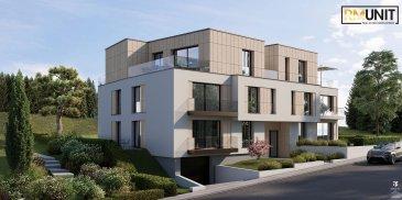RM Unit vous propose à la vente un nouveau projet résidentiel idéalement situé à Heisdorf dans la commune de Steinsel  La résidence se compose de 10 appartements de 1 à 3 chambres avec une superficie approximative entre 60m² et 125m².  Tous les appartements disposeront d'une cave privative.  Possibilité d?acquérir un emplacement intérieur pour 45.000 € HTVA  Un arrêt de bus direction Luxembourg-Ville ainsi que la gare de Walferdange se trouvent à  /- 500m Crèche à  /- 400m École fondamental à  /- 1km École secondaire à  /- 4km  Les prix indiqués comprennent la TVA 3% (sous réserve de l'acceptation du dossier par l'Administration de l'Enregistrement et des domaines).  Pour toutes informations complémentaires, veuillez contacter l'agence au n° de tél : 00352 661 333 603 ou via email à : info@rmunit.lu Ref agence :B205