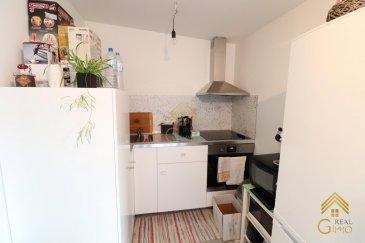 -- FR --<br/><br/>Bel appartement de +/- 52,03 m² dans une résidence entièrement reconstruite en 2014.<br /><br />Spacieux living avec coin cuisine équipée donnant accès à un balcon, salle de bain avec wc , 1 grande chambre à coucher.<br /><br />Cet appartement est également accompagné d\'un garage fermé. <br /><br />Pour tous renseignements complémentaires ou une visite (visites également possibles le samedi sur rdv), veuillez contacter le 28.66.39.1.<br />Ref agence :72859