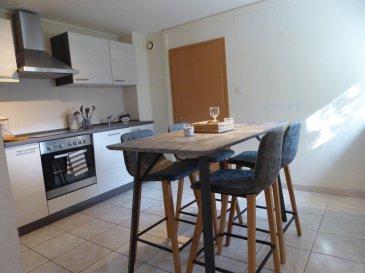 Rohrbach T3 meublé + garage + espace vert. Bel appartement  meublé (meubles neufs et contemporains) à Rohrbach les Bitche en RDC.<br/>Composé d\'une cuisine équipée, salle d\'eau avec douche, salon accès direct au jardin, chambre, pièce (chambre ou salle à manger), garage, terrain plat d\'environ 4 ares.<br/><br/>Contact Nord sud immobilier<br/>Rohrbach les Bitche / Bitche / Sarreguemines<br/>03 72 64 01 02<br/>www.nordsud-immobilier.fr