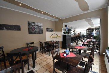 SARTORI IMMO, agence immobilière à Luxembourg, vous propose en exclusivité un fonds de commerce situé au centre de Luxembourg-Ville.<br><br><br>Le fonds de commerce, actuellement exploité comme café avec menu du jour, vous offre le suivant:<br>-sous-sol: diverses caves pour stockage<br>-rez-de-chaussée:<br>WC pour femmes et hommes<br>Une cuisine équipée individuelle de 2014 entièrement en inox<br>Salle de clients avec environ 50 couverts<br>-premier étage:<br>Un appartement avec salle de bain et 3 chambres<br><br>Pour plus de renseignements, n\'hésitez pas de contacter Mr. Costa au 621 20 83 00<br />Ref agence :297