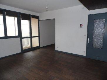 JOEUF APPARTEMENT F4  68.75 M². Idéal premier achat ou investisseur !<br>Appartement de type F4 (68.75 m²) comprenant : entrée, cuisine, salon et  salle à manger avec accès sur un balcon et une loggia,2 chambres avec placards, salle de bain et wc indépendant.<br>2 caves.Interphone<br>Chauffage individuel gaz, : la chaudière est neuve.<br>Copropriété de 120 lots dont 40 lots d\'habitation<br>Charges annuelles : 960 euros<br>Copropriété de 120 lots <br><br> Charges annuelles : 960 euros.