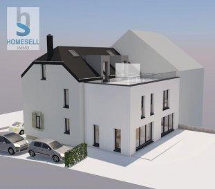 Homesell Immo vous propose un projet autorisé dans la commune de Mertzig d\'une maison à transformer en 2 maisons jumelées. <br><br>Chaque lot disposera de:<br>-  de 140m² à 152m² de surface habitable <br>- 3 à 4 chambres<br>- 2 salle de bains<br>- une cuisine<br>- un séjour<br>- cave<br>- des terrasses entre 21,00m² et 24,00m² <br>- jardins privatifs<br>- 2 emplacements extérieurs par lot<br><br>Dans le prix, il est compris la maison dans l\'état actuel avec les autorisations de la commune pour la transformation. Le coût des travaux de transformation seront à charge des futurs acquéreurs.<br><br>Si vous désirez de plus amples renseignements contactez-nous.<br>Tél.: 28 11 22 -1 info@homesell.lu <br><br>HOMESELL Immo votre guide de l\'immobilier.<br><br>