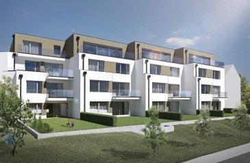 L'agence FIS Immobilière vous présente l'appartement C1.   L'appartement C1 a une surface de + ou - 96.83 m2 situé au rez-de-chaussée avec une terrasse de + ou - 6.56 m2 et un jardin privatif de + ou - 100 m2.   L'appartement dispose de :  - 2 chambres à coucher de 15.28 m2 et 10.93 m2, - 1 salle de bain, - 1 dressing, - 1 WC séparé, - 1 cave privative.   Vous pourrez acquérir un emplacement intérieur au prix de 30.000,00 € ou un emplacement extérieur au prix de 15.000,00 €.   Le projet comprend 6 nouvelles résidences à toitures plates de style contemporain dans une rue calme et sans issue dans la ville de Tétange.   Les 6 résidences regroupent 16 logements en tout.   4 Résidences ont chacune 2 appartements et 1 penthouse sur deux niveaux par bâtiment, le sous-sol est commun aux 4 bâtiments. Les 4 résidences comprennent 24 emplacements intérieurs et 2 emplacements extérieurs.   Les 2 autres bâtiments ont 2 duplex chacun avec un sous-sol séparé pour les deux bâtiments qui disposent de 4 caves et de 4 emplacements intérieurs doubles.   Les 4 duplex auront des entrées complètement séparés comme dans une maison.   Chaque appartement dispose d'une cave privé.   Les appartements sont spacieux et lumineux disposant de 2 à 4 chambres à coucher avec une voir 2 terrasses par appartements.   Les appartements situés au rez-de-chaussée dispose d'un jardin privé.   Chaque détail a été ici pensé afin de proposer aux futurs occupants un confort de vie optimal.   Des équipements et matériaux haut de gamme sélectionnés avec le plus grand soin, des espaces extérieurs comme des terrasses et jardins privés pour les appartements au rez-de-chaussée et des terrasses avec une vue dégagée pour les biens aux étages supérieurs.   Êtes-vous intéressé ?  Toute l'équipe de FIS Immo. est à votre disposition pour répondre à toutes vos questions au +352 621 278 925