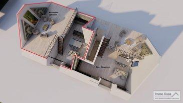 Nouvelle résidence à 4 unités à Nospelt ImmoCasa vous propose en exclusivité une nouvelle résidence de 4 unités au centre de Nospelt  La résidence comprend 4 appartements de 54.40 à 86.30m2. 4 Parkings intérieurs au prix de 25.000eur. (En supplément) 4 parkings extérieurs au prix de 15.000eur. (En supplément) 4 Caves inclues dans le prix de vente. Local vélos/poussettes en commun.  Ici vous trouvez l?appartement au Deuxième étage côté droit de 64.10m2 habitables avec total de 64.85m2. Vous disposez d?un hall d?entrée, living lumineux salle de bains/douche, cuisine ouverte non fournie. Balcon de 2m2 et chambres à coucher de bonnes dimensions. Pas d\'ascenseur.  Ce projet est une Rénovation/Modification. Nouvelle électricité. Nouvelle chauffage. Nouvelle Toiture. Nouvelles dalles, etc. Matériaux de haut qualité au choix pour les finissions. Pour plus d?informations et pour les plans, n?hésitez pas à nous contacter.  N?hésitez pas à nous contacter pour vendre votre bien. Nos estimations sont gratuites.  Nous recherchons en permanence pour la vente et pour la location des appartements, maisons, terrains à bâtir et projets autorisés pour clientèle existante. Achat éventuel par notre société.  Ref agence :1906583