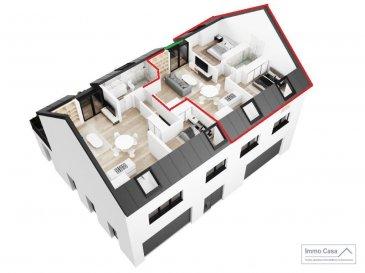 Nouvelle résidence à 4 unités à Nospelt ImmoCasa vous propose en exclusivité une nouvelle résidence de 4 unités au centre de Nospelt (Prix affiché avec 3% de TVA)  La résidence comprend 4 appartements de 64.40 à 95m2. 2 Parkings intérieurs au prix de 25.000eur. (En supplément) 2 Parkings intérieurs au prix de 35.000eur. (En supplément) 4 parkings extérieurs au prix de 15.000eur. (En supplément) 4 Caves inclues dans le prix de vente. (Prix affiché avec 3% de TVA)  Ici vous trouvez l\'appartement au Deuxième étage côté droit de 77,98m2 habitables. Vous disposez d\'un hall d\'entrée, living lumineux salle de bains/douche, cuisine ouverte non fournie. Balcon de 2m2 et chambres à coucher de bonnes dimensions. Pas d\'ascenseur.  Ce projet est une Rénovation/Modification. Nouvelle électricité. Nouvelle chauffage. Nouvelle Toiture. Nouvelles dalles, etc. Matériaux de haut qualité au choix pour les finissions. Pour plus d\'informations et pour les plans, n\'hésitez pas à nous contacter.  N\'hésitez pas à nous contacter pour vendre votre bien. Nos estimations sont gratuites.  Nous recherchons en permanence pour la vente et pour la location des appartements, maisons, terrains à bâtir et projets autorisés pour clientèle existante. Achat éventuel par notre société.  Ref agence : 1906583