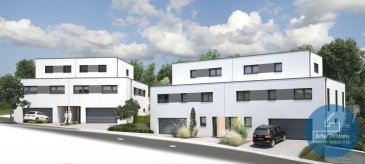 RCI - REFFAY Christophe Immobilien vous présente ici  LOT 56 :  La maison unifamiliale jumelée (lot 56) se situe dans la commune d'ETTELBRUCK au 56, chemin du Camping.  Elle sera construite sur un terrain de 3,57 ares, aura une surface habitable d?environ 145 m² et les caractéristiques suivantes :   Au RDC :  - 1 grand garage avec 2 emplacements de voitures côte à côte - 1 dégagement - 1 hall d?entrée - 1 buanderie - 1 local chaufferie - 1 cave  Au 1er étage :  - 1 chambre  - 1 grand espace salon/séjour - 1 cuisine ouverte - 1 WC séparé - 1 salle de douche - 1 local de réserve/cellier   Au 2e étage (espace mansardé) : - 2 chambres - 1 hall  - 1 salle de bain  Pour tout renseignement complémentaire, merci de contacter  RCI - REFFAY Christophe Immobilien 691 661 661    --------------------  RCI - REFFAY Christophe Immobilien presents here  LOT 56: The single-family semi-detached house (lot 56) is located in the town of ETTELBRUCK at 56, chemin du Camping. It will be built on a plot of 3.57 ares, will have a living space of approximately 145 m² and the following characteristics:  On the ground floor: - 1 large garage with 2 car locations side by side - 1 release - 1 entrance hall - 1 laundry - 1 local boiler room - 1 cellar  1st floor: - 1 bedroom - 1 large living / dining area - 1 open kitchen - 1 separate WC - 1 shower room - 1 spare room / storeroom  2nd floor (attic space): - 2 bedrooms - 1 hall - 1 bathroom  For further information, please contact RCI - REFFAY Christophe Immobilien 691 661 661  --------------------  RCI - REFFAY Christophe Immobilien präsentiert Ihnen hier  LOS 56: Die Einfamilien-Doppelhaushälfte (Los 56) befindet sich in der Stadt ETTELBRUCK, 56, chemin du Camping. Es wird auf einem Grundstück von 3,57 Ar gebaut, wird eine Wohnfläche von ca. 145 m² und die folgenden Eigenschaften haben:  Im Erdgeschoss: - 1 große Garage mit 2 Stellplätzen nebeneinander - 1 Abstellecke - 1 Eingangshalle - 1 Waschraum - 1 Heizungsraum - 1 Keller  1. Etage: - 1 Schlafzimmer - 1 großer Wohn- / Essbereich - 1 offene Küche - 1 separates WC - 1 Duschraum - 1 Reserveraum / Abstellraum  2. Etage (Dachgeschoss): - 2 Schlafzimmer - 1 Korridor - 1 Badezimmer  Für weitere Informationen wenden Sie sich bitte an RCI - REFFAY Christophe Immobilien 691 661 661 Ref agence :V_2019_14_56