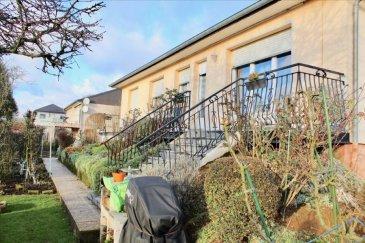 Charmante maison individuelle de plain-pied d'environ 100 m2 habitable dans quartier calme et résidentiel sur 8 ares de terrain arboré. Elle se compose d'une grande entrée aménagée d'un dressing, une cuisine équipée fermée accès balcon, un vaste salon/séjour de 30 m2 avec cheminée et accès balcon.  L'espace nuit se compose de 3 chambres, un WC séparé et une salle de bains avec douche italienne récente. Sous-sol entièrement aménagé (une pièce, une buanderie, une réserve, un espace de stockage) sur superficie totale de la maison soit environ 100 m2.  Garage 2 voitures avec fosse.  Double vitrage neuf (2 ans) Toiture neuve (5 ans) et cheminées rhabillées en octobre 2018 Chaudière au fioul parfaitement entretenue  Chauffe eau électrique. Tableau électrique neuf. Adoucisseur d'eau. Possibilité d'installer un poele à pellets.  Taxe foncière = 925 € / Taxe habitation = 1100 € Conso. élec. = 880 € /an Fioul = 2000 L / 1,5 ans  Prévoir raffraichissement. A voir absolument.