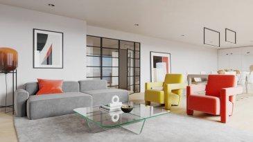 En vente nouvelle résidence disposant de 3 appartements lumineux et haut standing.  Vous pouvez dès maintenant réserver votre appartement de rêve dans cette résidence !    Encore qu'un appartement disponibel!   - Appartement au 2ième étage (2-4 chambres, modulable entre 2, 3 et 4 chambres dépendant  du besoin de l'acquéreur)  à +/-142.88 m2 vendable et +/-130 m2 (net habitable intérieur) avec   + balcons de +/- 30m2    + ascenseur privatif  Emplacements intérieurs dans garage (Sous-Sol) avec accès à l'ascenseur privatif  Tout plein pied!!!  Vente en futur état d'achèvement (VEFA)    Actuellement, il est encore possible de changer les dispositions des intérieurs des appartements, c'est-à-dire tailles des différents pièces ( living/ chambres/SBD/SDD) etc !!!   Les appartements/penthouses seront livrés 'clés en main'.   De nombreuses options et possibilités de personnalisation sont offertes pour chaque logement afin de permettre à chacun de définir l'ambiance, les couleurs ou encore les matériaux qui correspondent à ses envies.   L'ensemble de ces paramètres sont définis dans le cahier des charges de la construction, selon le type de logement envisagé.   Chaque lot dispose d'au moins une terrasse, d'un balcon et/ou d'un jardin privatif.   Spécifiés techniques :   - Ascenseur (privatif)  - Ventilation contrôlée double flux - Chauffage au sol  - Châssis PVC Triple vitrage  - Stores électriques Raffstore  - Finitions haut de gamme   La résidence sera érigée à deux pas du centre-ville/école primaire /centres commerciaux/ et avec bon accès aux grands axes de circulation.   Acheter du neuf c'est avoir la garantie et la tranquillité pour des années.   Acheter dans cette résidence vous donne la possibilité d'intégrer vos idées/préférences dans votre futur logement !   Acheter directement au promoteur, c'est avoir des informations claires et la garantie du meilleur prix !   Les prix et conceptions exactes sont actuellement sur demande !   N'hésitez pas à nous envoyer vos critèr