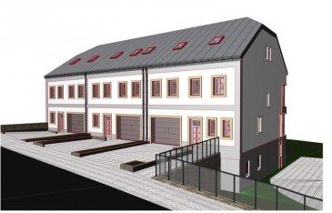 Nouvelle construction en vente. Maison de coin a vendre coté gauche.  Maison de 4 etages avec grand jardin. Debut des travaux fin 2020 Amenagement du terrain deja en cours