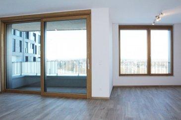 Sigelux Real Estate vous propose à la location, ce récent appartement, construction 2018, situé 1er étage de la nouvelle résidence